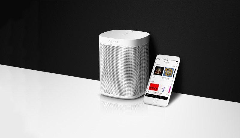 Der neue Sonos One mit der neuen Sonos App