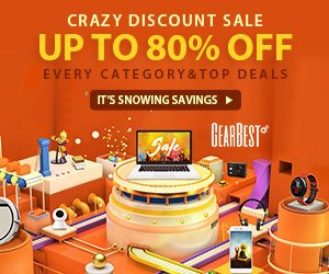 Gearbest The 2018 Gearbest Spring Markdown Sale from just 0.99$. promotion