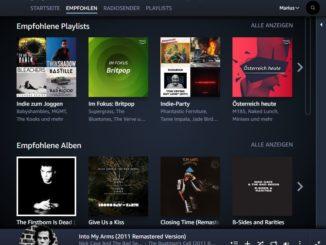 Amazon Music Unlimited Bedienung und Handhabung