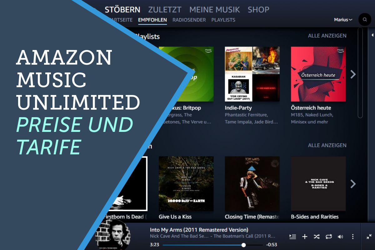 b3ac58f08a386b ▷ Amazon Music Unlimited im Test - Streaming Media Player