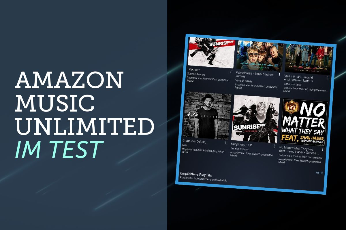 Amazon Music Unlimited im Test