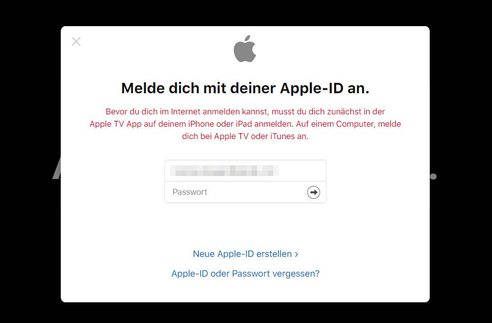 Fehlermeldung im Opera Browser
