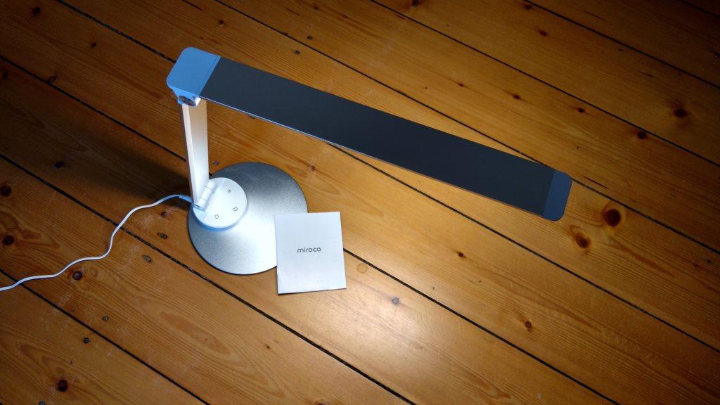 Miroco LED Schreibtischlampe mit warmer Farbtemperatur