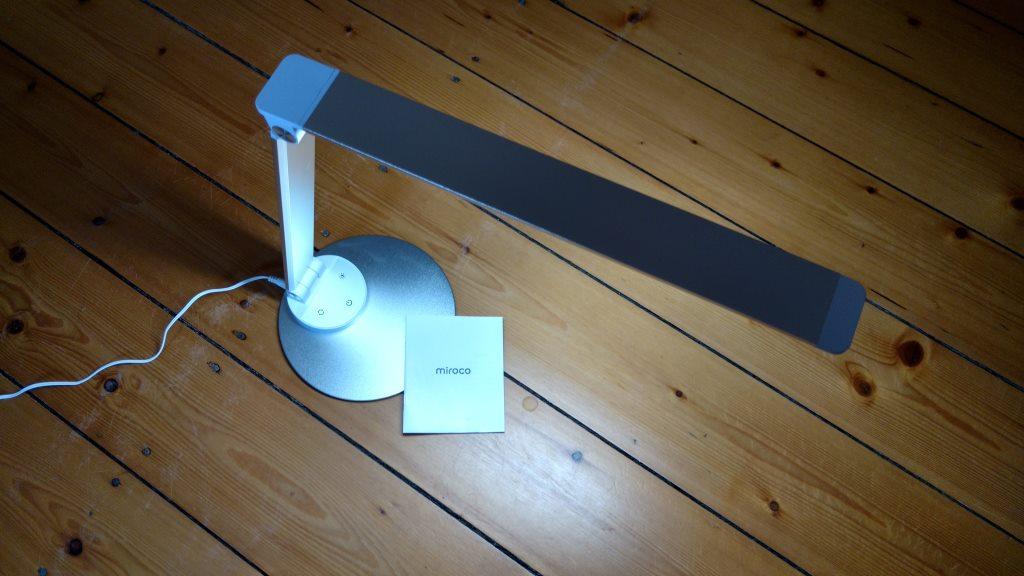 Miroco LED Schreibtischlampe mit kalter Farbtemperatur