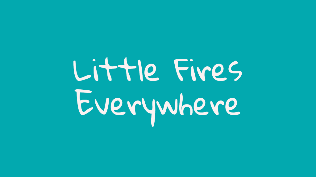 Little Fires Everywhere Serie