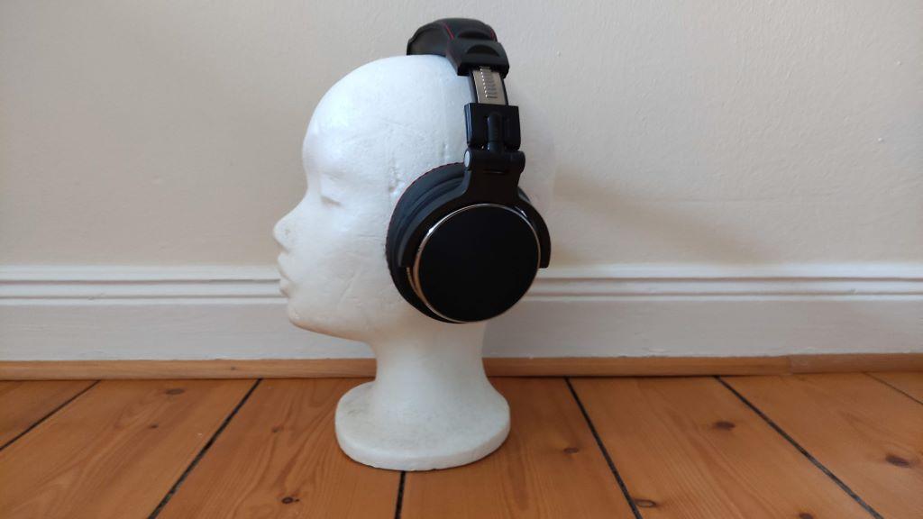 Der OneOdio Pro 50 Studio Kopfhörer hat eine ausgesprochen gute Soundqualität.